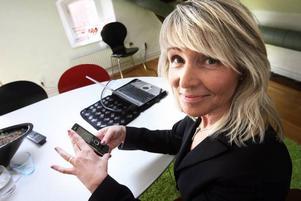 Arbetssökande får tips om sajtens lediga jobb via SMS. Regionchef Marjoe Alm räknar med att själv anställa två säljare framöver.