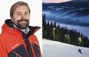Niclas Sjögren Berg är Skistars destinationschef i Åre.