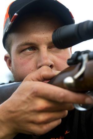 Martin Jonsson sköt sin första älg när han var femton.