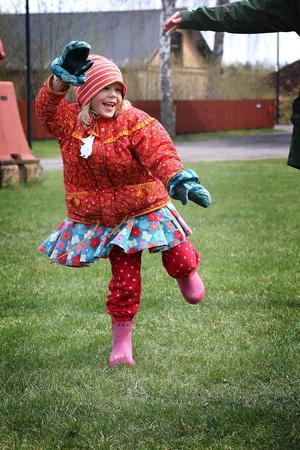 Att dansa på ett ben är inte så enkelt som man tror - för Siska Nordesjö var det inga problem.