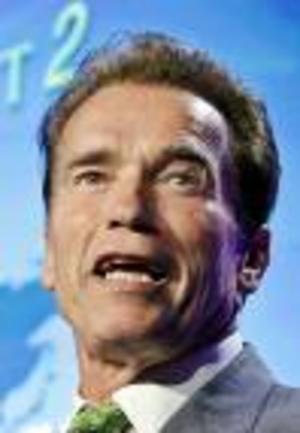 Arnold blev arg på hustrun.Foto: Scanpix