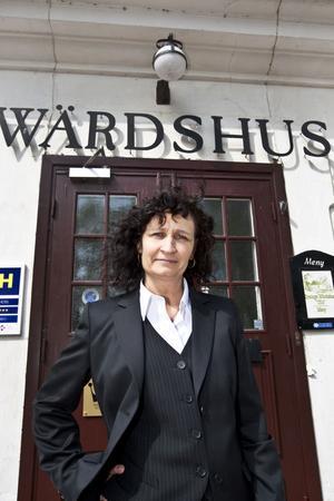 Veronika Kindström driver värdshus- och hotellverksamheten.