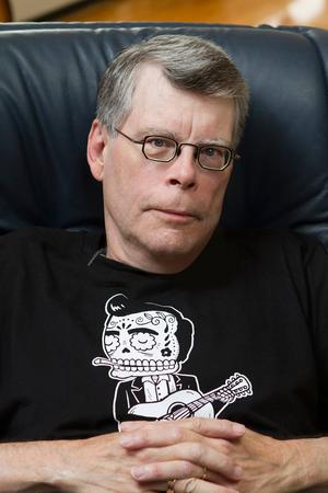 Stephen King. Outtröttlig.   Foto: Shane Leonard