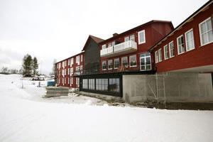 På torsdag öppnar lägenhetshotellet i anslutning till backarna.