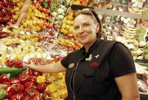NÄRPRODUCERAT, ekologiskt odlat, delikatesser och fullservice är Ann-Christine Bengtssons signum.
