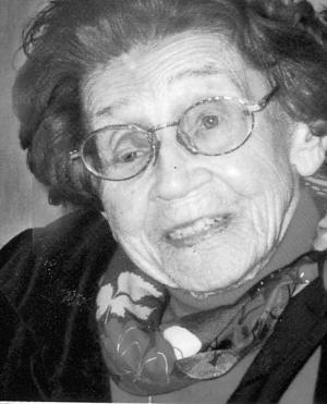 Karin Berntsen, 104 år.