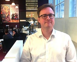 Lars Carlén är projektledare på Kultur & Näringsliv som verkar för mer sammarbete mellan kulturvärlden och näringslivet.