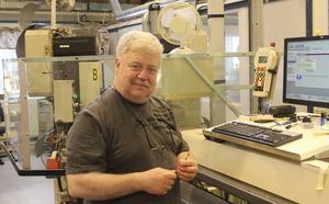 Christer Karlsson säger att han lär sig bäst när maskinen krånglar.