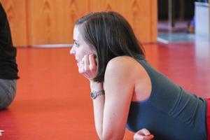 Karin Westberg är en av medlemmarna i Scensation.