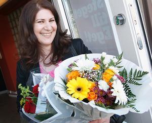 Behica Sliwo, ägare till Beas omsorg och assistans, korades till Årets nyföretagare 2010.