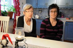 Agneta Lilja och Ulla Hedman fick julafton förstörd för sig och sina familjer, på grund av allt strul med den färdtjänst som skulle se till att deras respektive mammor fick vara med på julfirandet.