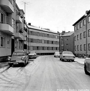 Rosenhillsgatan 2-8 1970-tal.