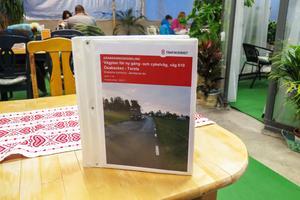 Vägplanen för gång- och cykelvägen finns tillgänglig för granskning bland annat hos Fröjas Oasen i centrala Ås.