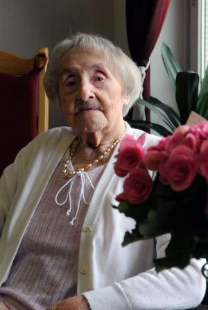 På tisdagen firade Britta Eriksson sin hundrade födelsedag.