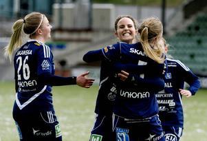 Ida Brännström gjorde 2–0 för sitt SDFF i bortamatchen mot Notviken. Men Sundsvalls-laget vann enkelt.