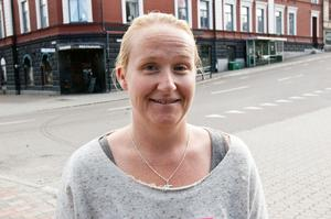 Jessica Ström, Sollefteå:– Det var i går. Då kramade jag min son.