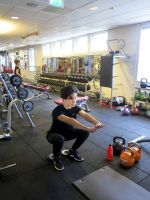 Hälsopulsdeltagaren Kevin Ström har börjat träningen och känner redan resultat.