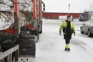 Roger Johansson tycker det är olustigt att åka till jobbet sen stöldförsöket och han är orolig för om det kommer bli vanligare i framtiden att lastbilssläp stjäls.