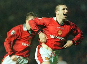 Eric Cantona är en av Uniteds mest populär spelare genom tiderna.