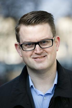 Anders Åhrlin Oppositionsråd och gruppledare för M i Örebro