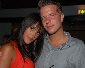 Blue Moon Bar. Ida och Mattias