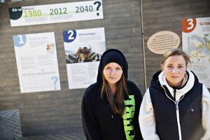 Namn: Elina AndremoÅlder: 17 årÅlder 2040: 44 årMedveten om Östersunds visioner inför 2040: NejFunderingar kring Östersund som stad: Den duger, men jag skulle gärna se att det var mer livat i centrum. Dessutom borde man ha något som sticker ut ordentligt, som kunde locka hit folk från andra städer. En köpcentrum som Kupolen i Borlänge skulle vara bra tror jag, där man samlar flera affärer i en galleria, Domus och Kärnan är inte tillräckligt stora. Dessutom vore det fränt med ett kulturhus, med mer musik och stora konserter. Jag är själv är uppfödd i Sundsvall, och ibland längtar jag tillbaka dit. Jag får se om jag flyttar tillbaka.Namn: Fanny WessénÅlder: 17 årÅlder 2040: 44 årMedveten om Östersunds visioner inför 2040: NejFunderingar kring Östersund som stad: Jag tycker att det är viktigt med bostäder åt unga. Att lära sig att bo på egen hand är ett stort steg mot vuxenlivet, och gärna så centralt som möjligt. Jag själv kommer nog att bo kvar i Östersund, eftersom jag är uppvuxen är. Jag gillar att den kallas för Vinterstaden, eftersom jag själv är en vintermänniska. Det händer inte så mycket i centrum, man kanske borde se till att det sker mer på Storsjöteatern till exempel. I övrigt tycker jag att det är en ganska bra stad, och jag upplever inte att jag saknar något direkt.