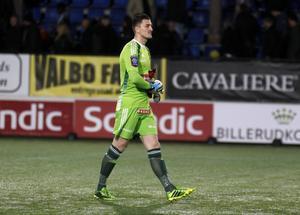 BP:s målvakt  Ivo Vazgec är avstängd hemma mot Malmö.