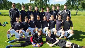 Hälsinglands P15 vann tre raka matcher på elitlägret i Halmstad.