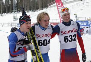 Fredrik Andersson, Jacob Nystedt och Anton Elvseth tog topplaceringarna i herrarnas 20 km som avslutade helgens tävlingar.