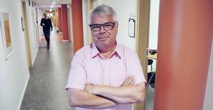 Göran Carlsson, landstingets och Region Dalarnas projektledare för Storregionsarbetet, besöker Smedjebacken den 19 september.