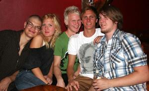 Konrad. Karl, Alexandra, Werthy, Breed och Daniel