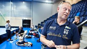 Håkan Ahlqvist, damelitansvarig i Telge SIBK.