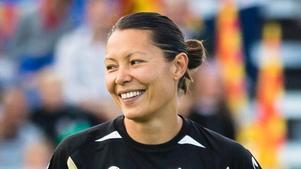 Fotbollsspelaren Jane Törnqvist från Hallstavik.