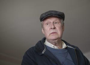 Rolf Lassgård fotograferad under inspelningen av filmen
