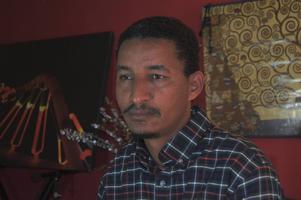 Journalisten Abraham Zere har lämnat Eritrea och lever nu i exil i USA. Foto: Yonatan Tewelde/TT