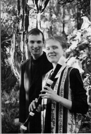 Nicolai Skovgaard och Hanne Tolbøll tar adjö med en lunchkonsert i Gamla kyrkan på fredag.