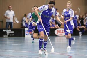 Pernilla Karlsson skriver i kväll på för division 1-laget Köpings IBF.