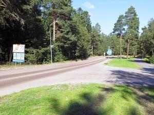 Rondell 4: korsningen Gavlehovsvägen/Travargatan.
