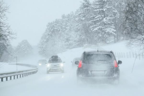 Minusgrader, snö och halka sätter förare på prov under vintern.
