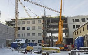 Skifu bygger till två våningar åt Mittuniversitetet.