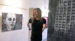 Peter Endahl visar både nytt och gammalt när han ställer ut på Kulturhuset Gävle.