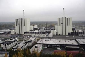 Slutförvaret ska enligt planerna läggas 500 meter ned i berget, i närheten av Forsmarks kärnkraftverk. Foto: TT