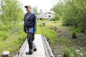 Kalle Boman förälskade sig i orten, gården och naturen.