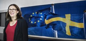 Cecilia Malmström har den viktiga rollen i EU-kommissionen som handelskommissionär.