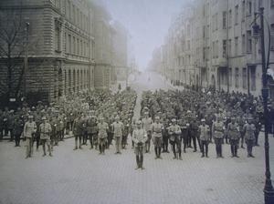 Svenska brigaden i Helsingfors 1918.