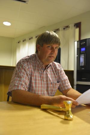 Klas Hedlund blev omvald som ordförande.