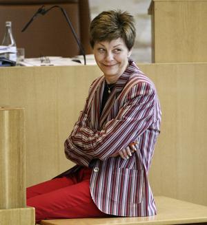 Tillbaka. De rödgröna partierna, med Ulla Persson (S) i spetsen, får flest mandat i Västerås kommunfullmäktige.