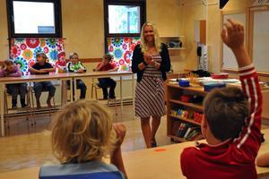 Enbacka skola i Gustafs står inför lokal förändringar för att möta de stora elevkullarna. Lokalerna behöver byggas ut inom de kommande åren. Bilden är tagen i samband med höstterminens start.