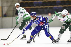 Jesper Eriksson under en match mot Västerås.