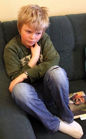 – Ibland saknar man fler klasskompisar, säger Patrik Engelin Andersson, 11.
